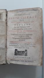 Lampe, Fredrik Adolf-Het Heylige Bruyd-Cieraat
