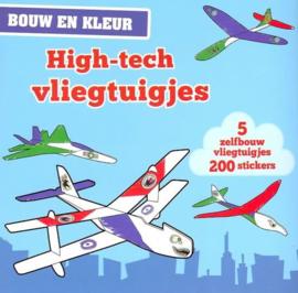 Kinoshita, Kei-Bouw en Kleur; High tech vliegtuigjes (nieuw)