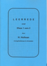 Hofman, Ds. H.-Leerrede over Efeze 1 vers 2