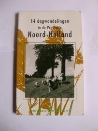 Burger, J.E., Sluis, R en Stobbe, H.-14 dagwandelingen in de provincie Noord-Holland
