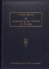 Manton, Thomas-De verheerlijking van Christus op de berg