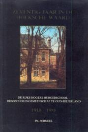 Perneel, Ph.-Zeventig jaar in de Hoeksche Waard