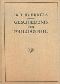 Hoekstra, Dr. T.-Geschiedenis der Philosophie