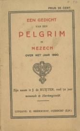 Ruijter, J. de-Een gedicht van een pelgrim in Mezech