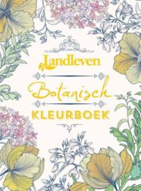 Landleven-Botanisch kleurboek; met 32 ansichtkaarten (nieuw)