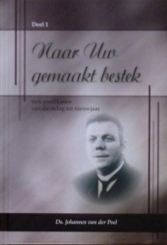 Poel, Ds. Joh. van der-Naar Uw gemaakt bestek deel 2 (nieuw)