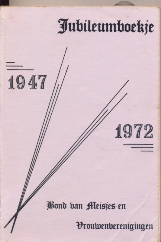 Crum-Nieuwland, Z.-Jubileumboekje