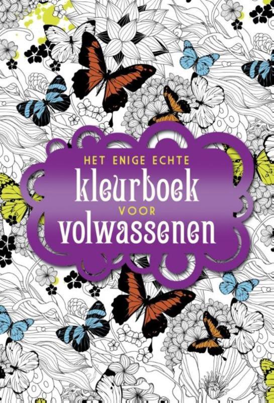 BBNC-Het enige echte kleurboek voor volwassenen (nieuw)
