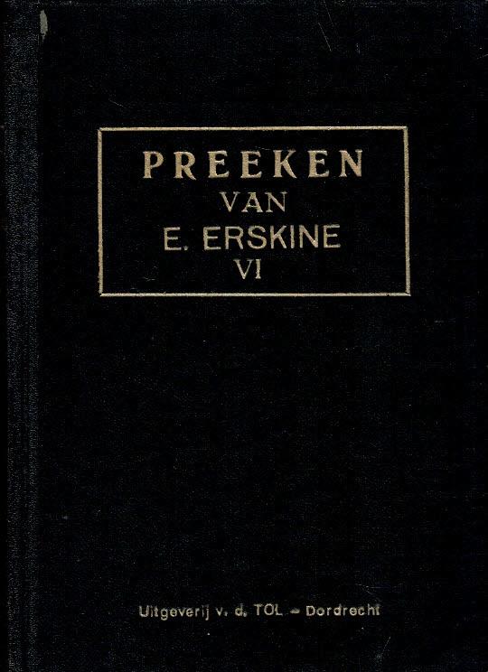Erskine, Ebenezer-Preeken (deel 6)