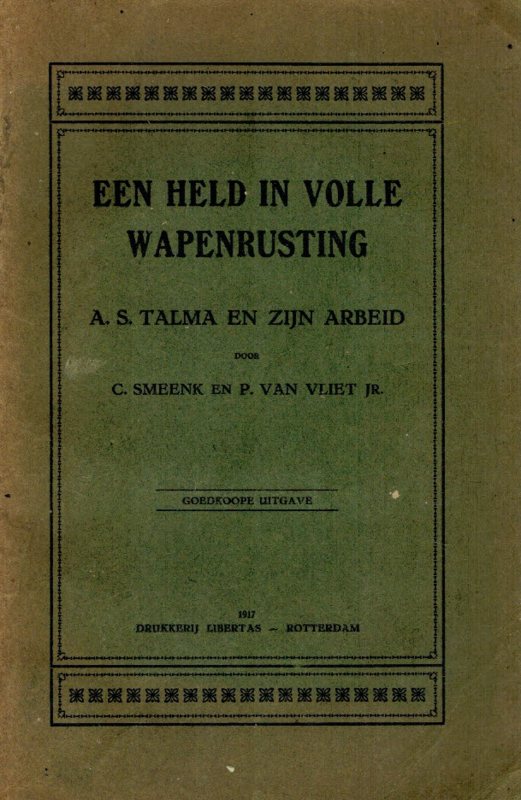 Smeenk, C. en Vliet jr., P. van-Een held in volle wapenrusting (Ds. A.S. Talma)