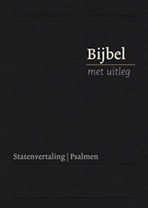 Bijbel met uitleg in Statenvertaling-Harde band, zwart, klein formaat (nieuw)