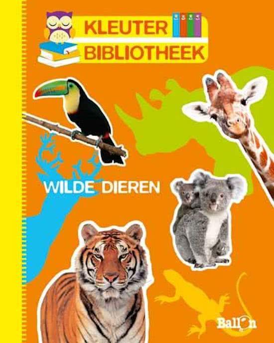 Kleuterbibliotheek-Wilde dieren (nieuw)