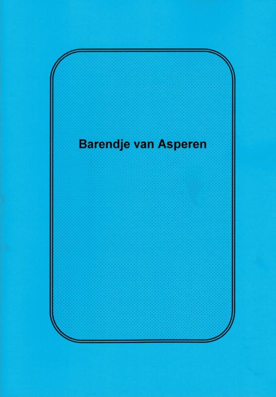 Asperen, Maria van-Barendje van Asperen (nieuw)