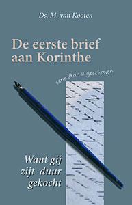 Kooten, Ds. M. van-De eerste brief aan Korinthe (nieuw)