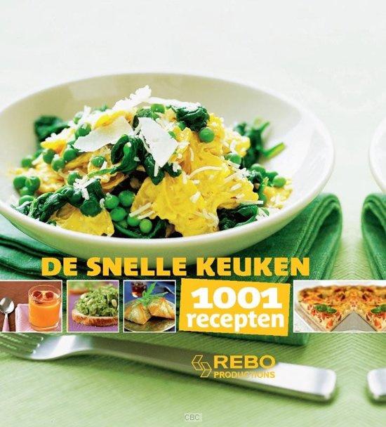 Rebo-De snelle keuken; 1001 recepten (nieuw)