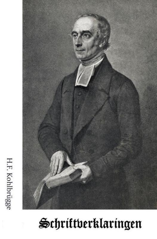 Kohlbrugge, Dr. H.F.-Schriftverklaringen deel 11