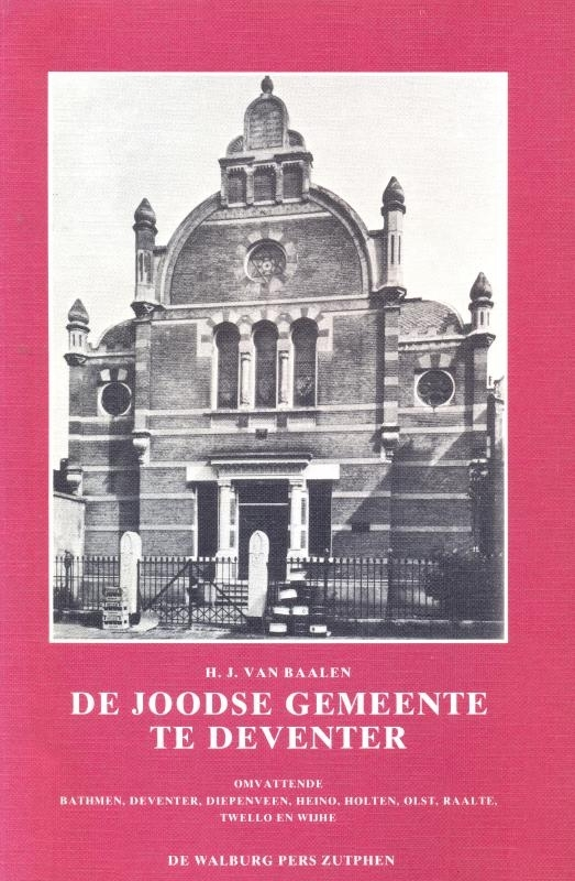 Baalen, H.J. van-De Joodse Gemeente te Deventer