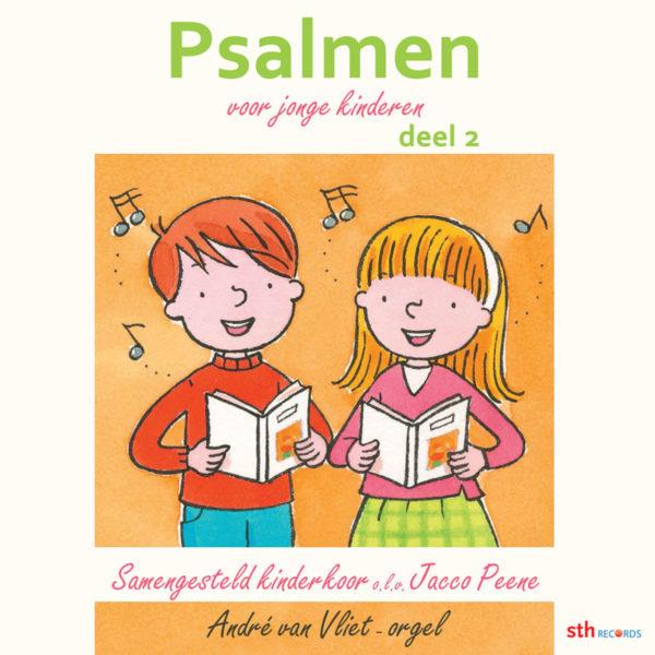 CD-Psalmen voor jonge kinderen, deel 2 (nieuw)