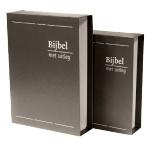 Cassette voor Bijbel met uitleg (harde band)-Groot formaat (nieuw)