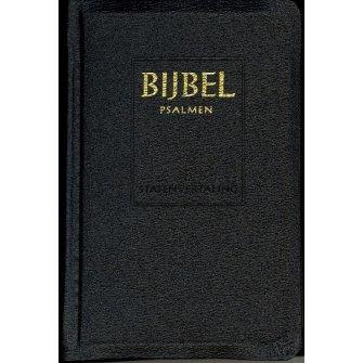 Jongbloed-Bijbel Statenvertaling met Psalmen (zwart) (nieuw)