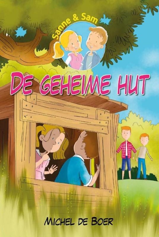 Boer, Michel de-De geheime hut (nieuw, licht beschadigd)