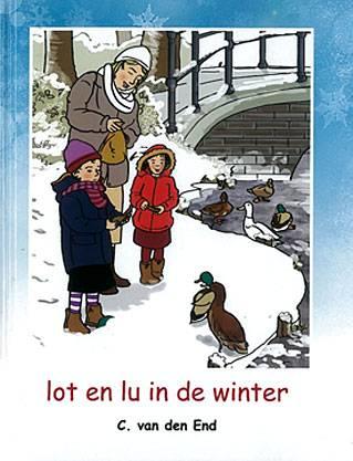 End, C. van den-Lot en Lu in de winter (nieuw)