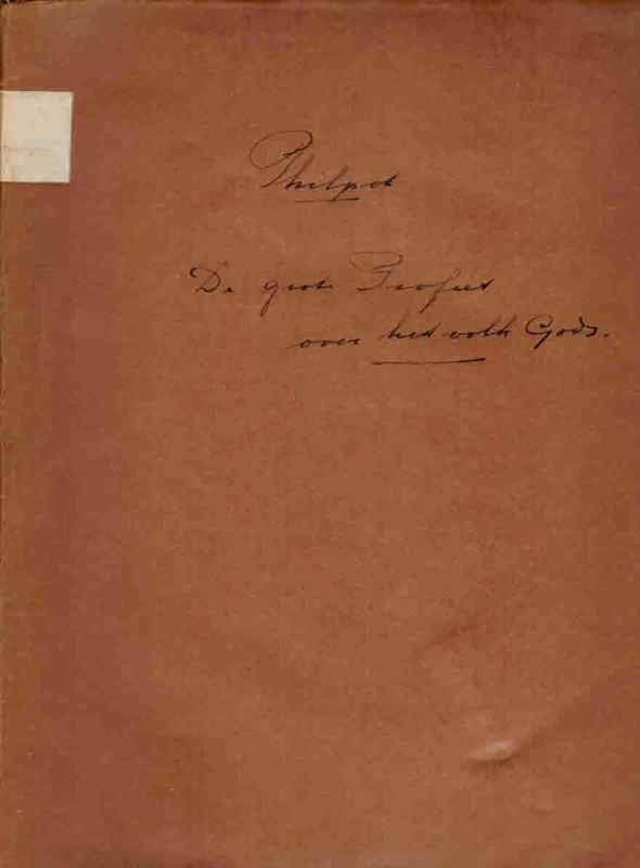 Philpot, J.C.-De grote Profeet over het Volk Gods