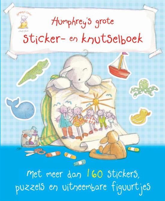 Humphrey's grote Sticker- en Knutselboek (nieuw)