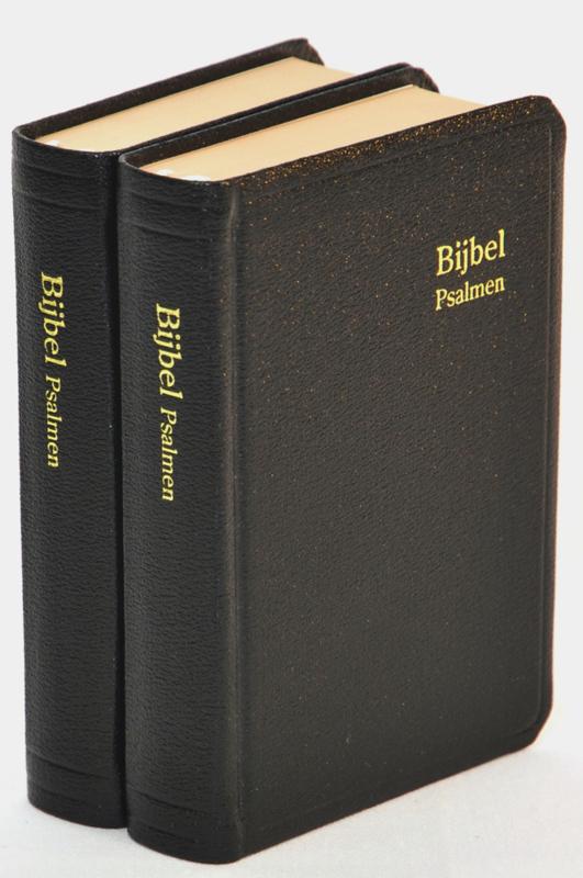 Gereformeerde Bijbelstichting-Zakbijbel Statenvertaling met Psalmen (nieuw)