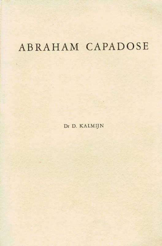 Kalmijn, Dr. D.-Abraham Capadose