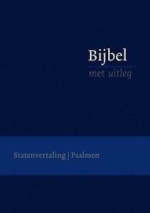 Bijbel met uitleg in Statenvertaling-Flexibele band, blauw, klein formaat (nieuw)