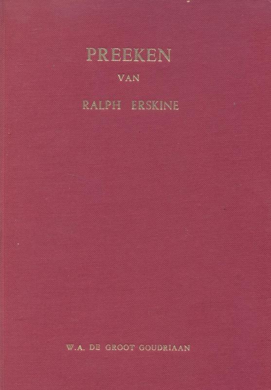 Erskine, Ralph-Preken (deel 2)