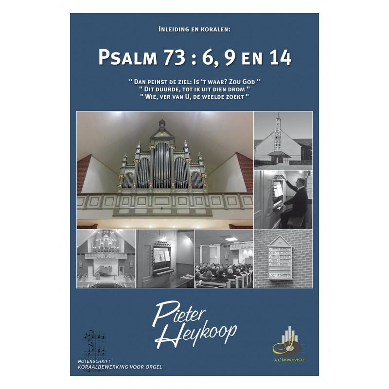 Heykoop, Pieter-Bladmuziek noten Psalm 73 vers 6, 9 en 14 (nieuw)
