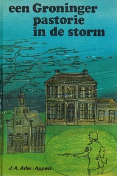 Groninger pastorie in de storm