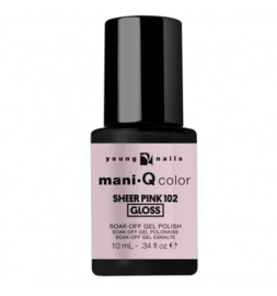 ManiQ Sheer Pink 102 10 ML