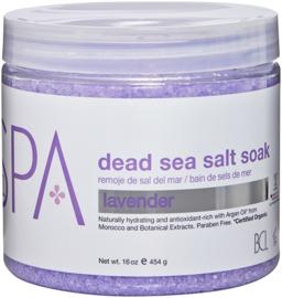 BCL Spa Lavender & Mint Dead Sea Salt Soak 454 gr