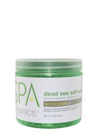 BCL Spa Lemongrass & Green Tea Dead Sea Salt 454 gr