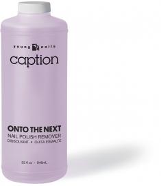 Caption Onto the Next Polish Remover 946 ml