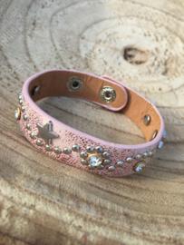 Armband | kleur roze