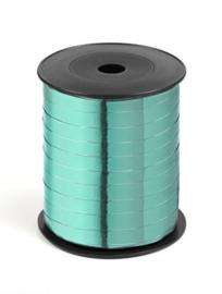 Metallic krullint 10 mm | kleur mint
