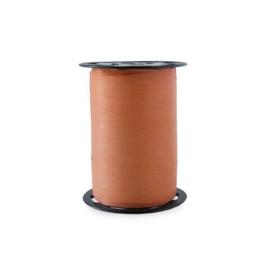 Paperlook krullint 10 mm breed | kleur bright red