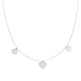 Necklace You're my Starr | zilver.