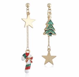 Mooie oorbellen voor de Kerst.