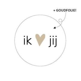 10 cadeaustickers | IK LOVE JIJ