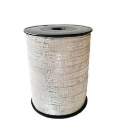 Zilver glitter lint | 10 mm breed