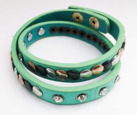 Ibiza style armband | kleur mint