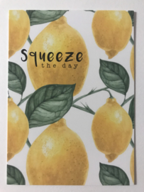 Cadeaukaartje SQUEEZE THE DAY