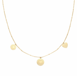 Necklace Locked in Love | goud.