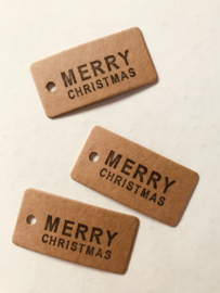 10 cadeaulabels Merry Christmas
