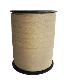 Goud glitter lint | 10 mm breed